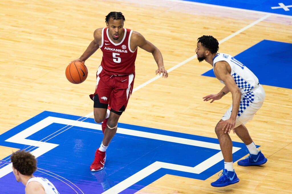NBA mock draft: Moses Moody, Arkansas