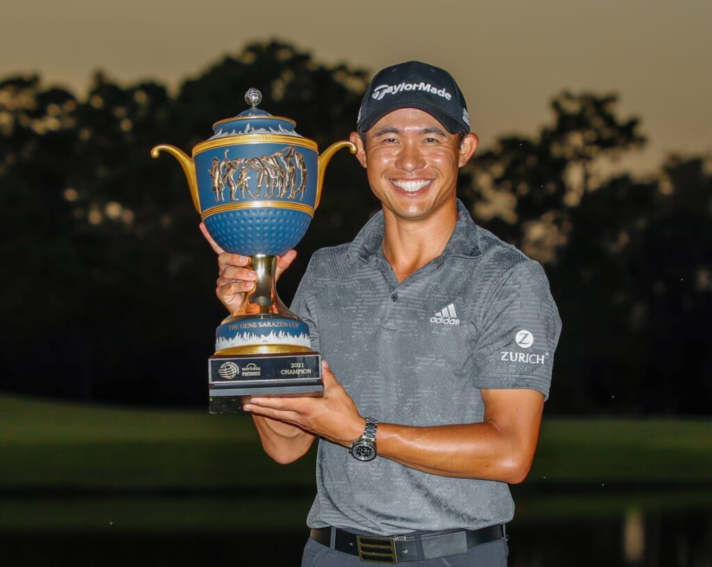 Collin Morikawa wins WGC