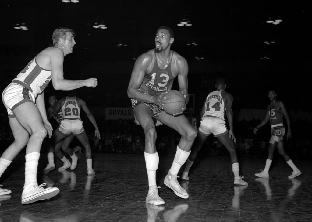 Single-game NBA scoring records: Wilt Chamberlain, Philadelphia 76ers