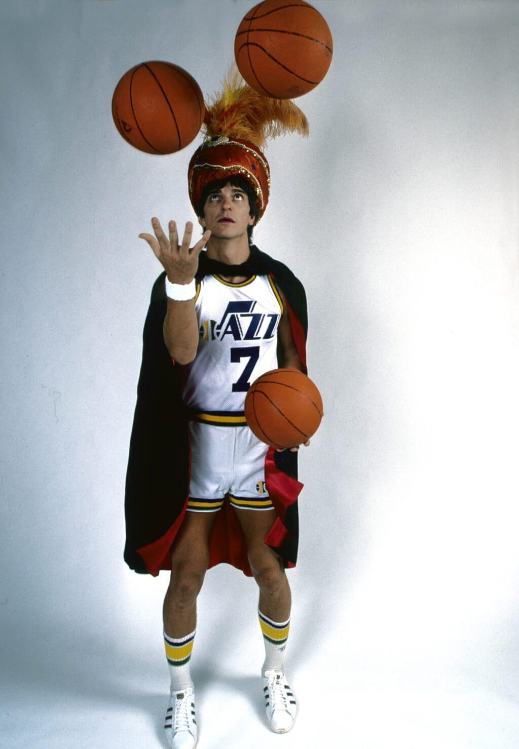 Single-game NBA scoring records: Utah Jazz, Pete Maravich