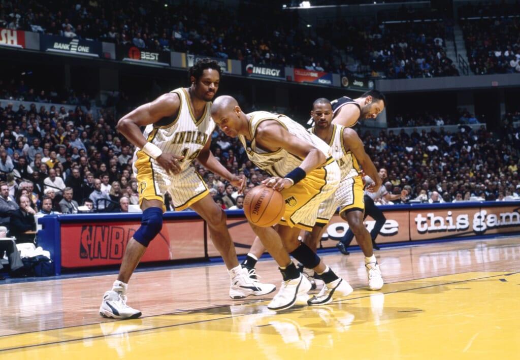 Single-game NBA scoring records:  Reggie Miller, Indiana Pacers