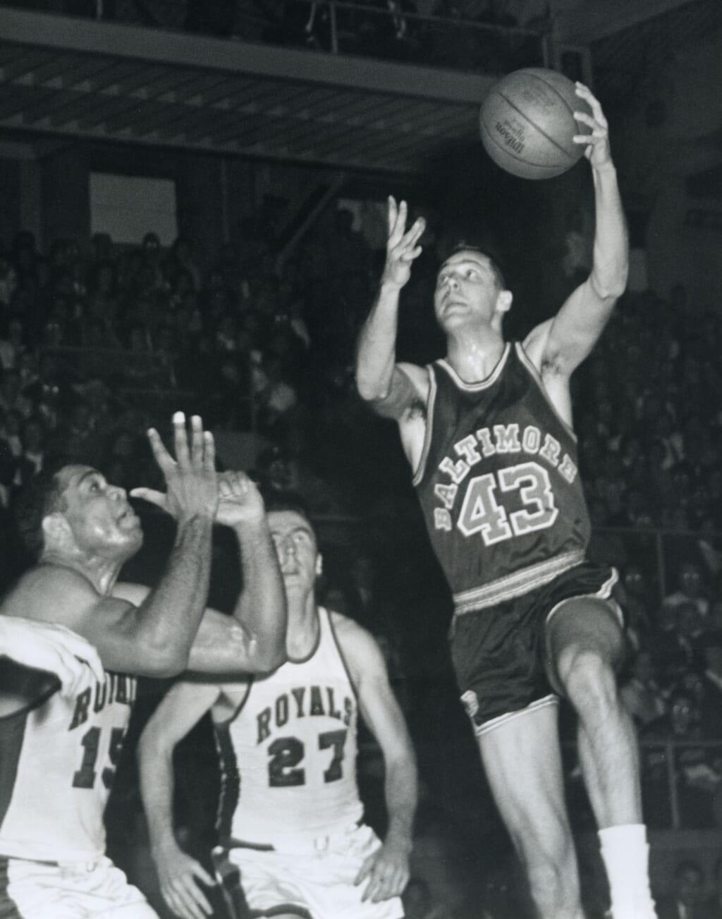 Single-game NBA scoring records: Sacramento Kings Jack Twyman