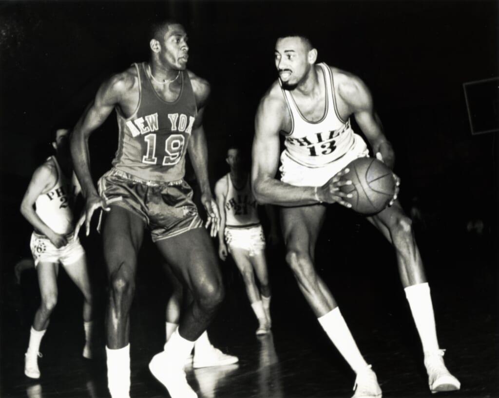 Single-game NBA scoring records: Wilt Chamberlain, 100 points, Golden State Warriors franchise