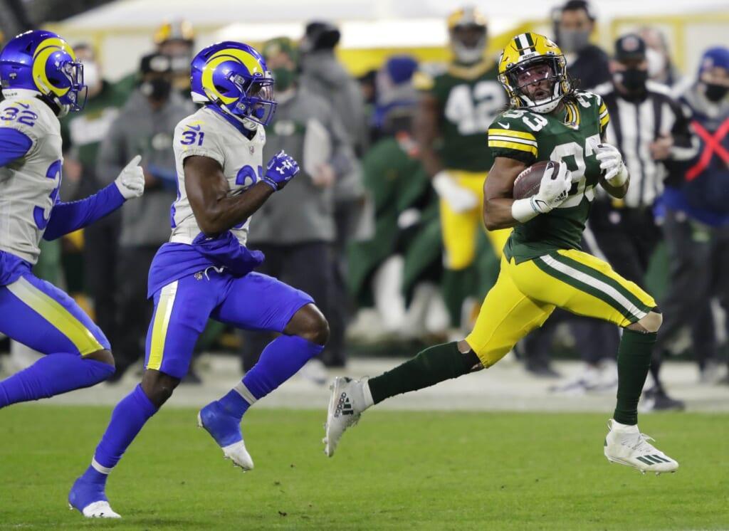 NFL free agents 2021: Aaron Jones, RB, Green Bay Packers