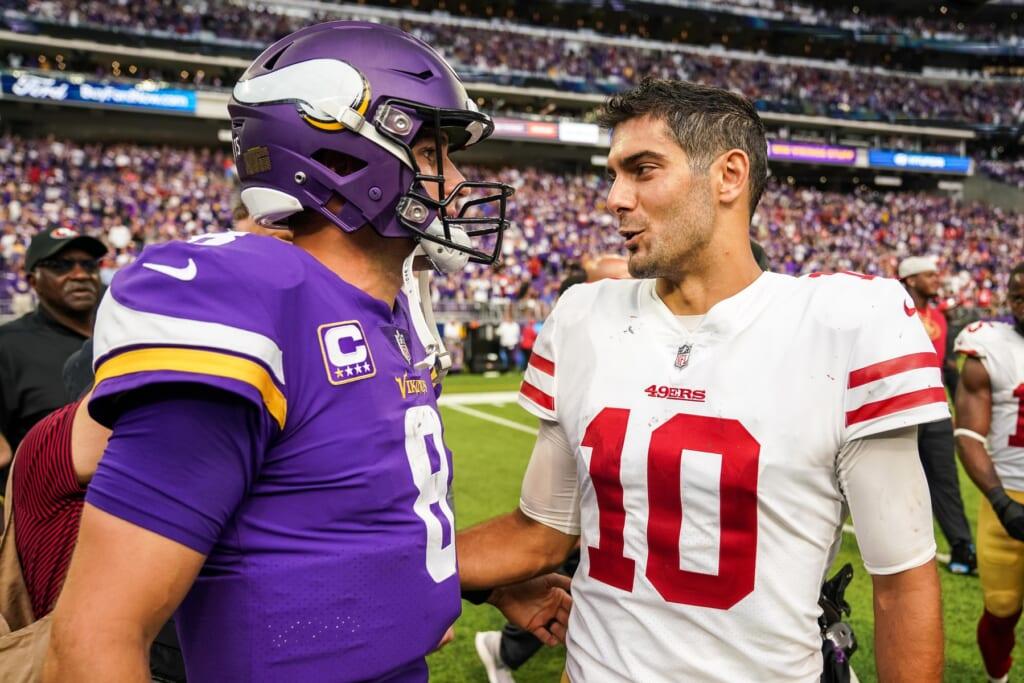 49ers rumors: Why a Kirk Cousins trade makes sense