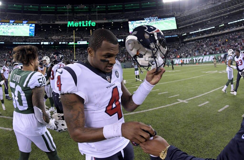 Extreme scenarios for NFL QB trades: Deshaun Watson to New York Jets?