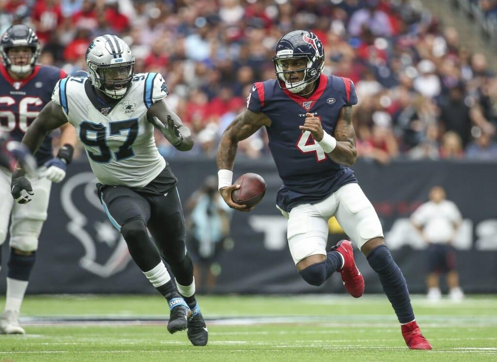 NFL rumors: Carolina Panthers to include Christian McCaffrey in Deshaun Watson trade package?