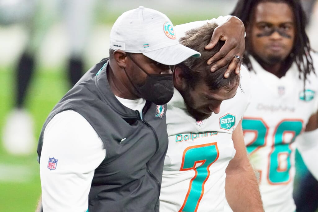 Miami Dolphins' salary cap priorities after Jason Sanders extension