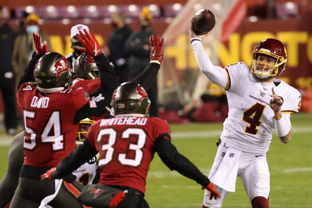 Will Washington Football Team make Taylor Heinicke 2021 starting QB?