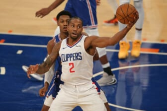 Kawhi Leonard agrees to huge four-year contract with Los Angeles Clippers