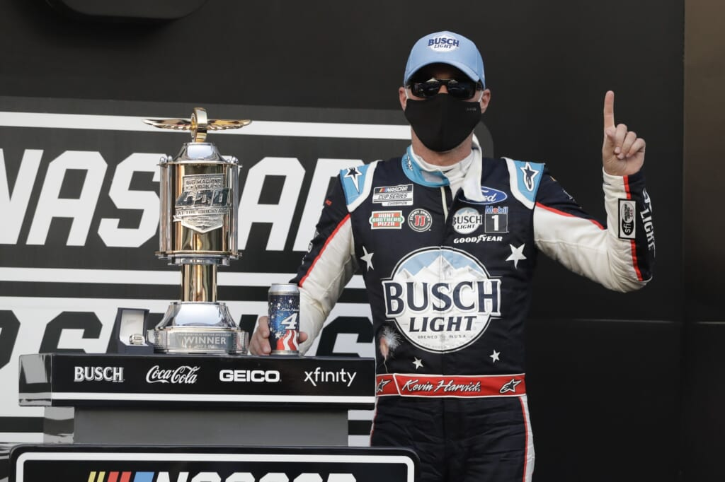 Does Kevin Harvick have another dominant season left in the tank?