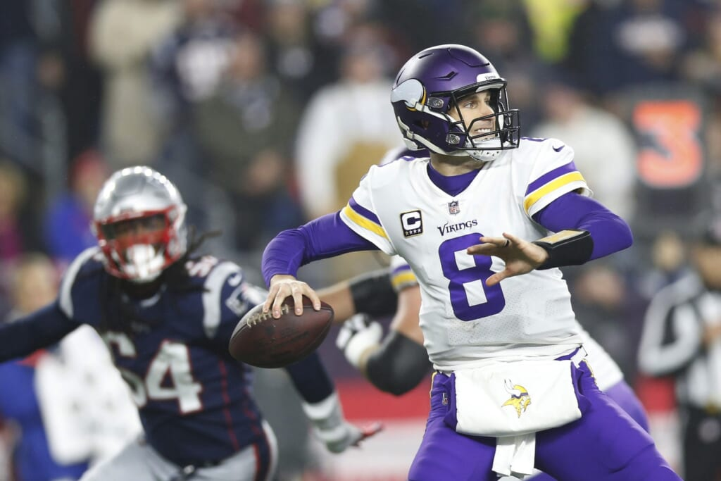 Kirk Cousins to New England Patriots
