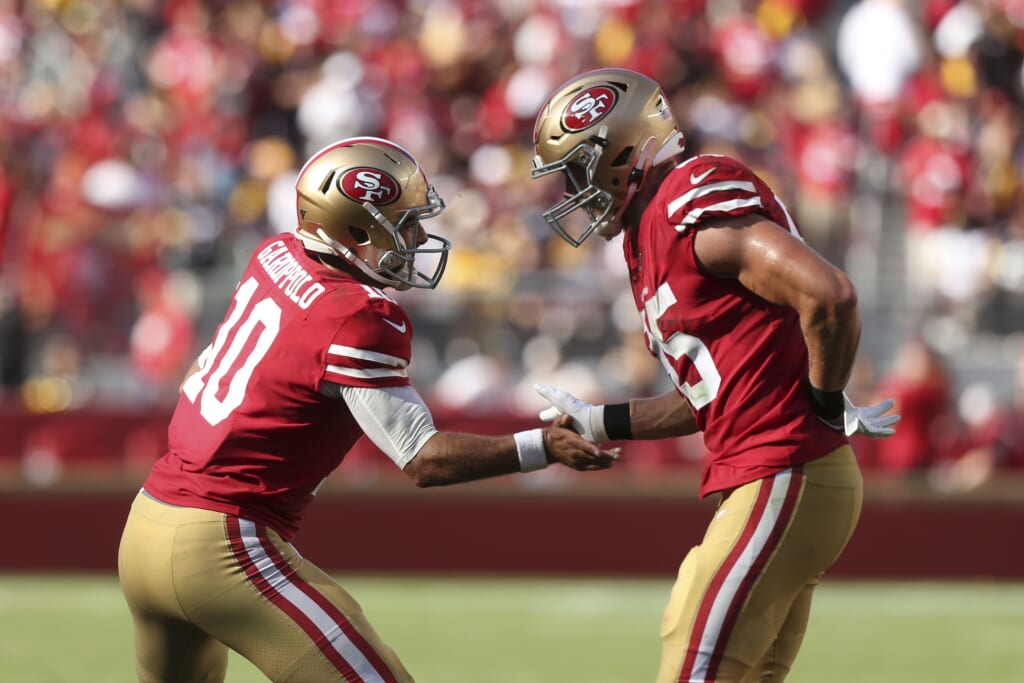 Will George Kittle get a chance to play with Jimmy Garoppolo in 2021?