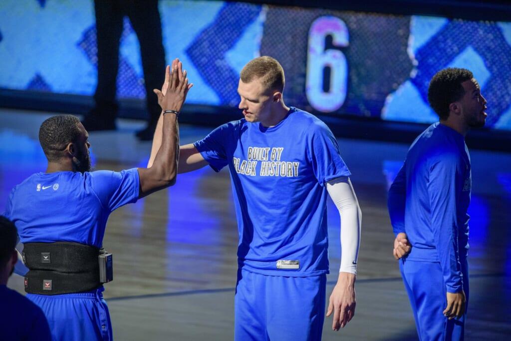 NBA rumors: Kristaps Porzingis trade