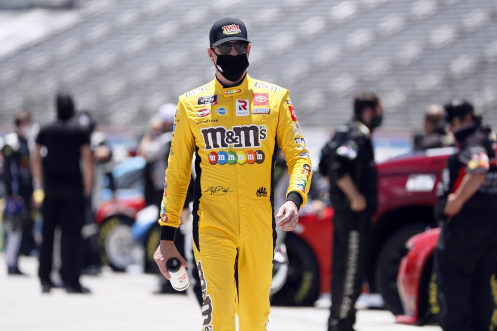A crew chief change for Kyle Busch brings a new face to the No. 18