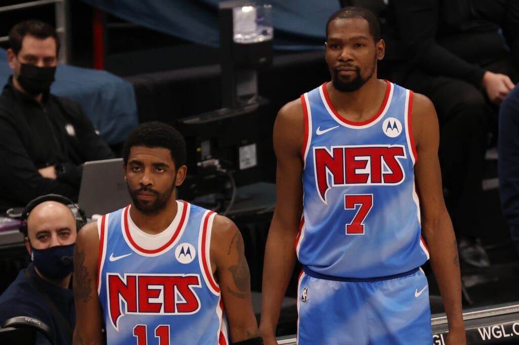 Brooklyn Nets: Kyrie Irving, Kevin Durant