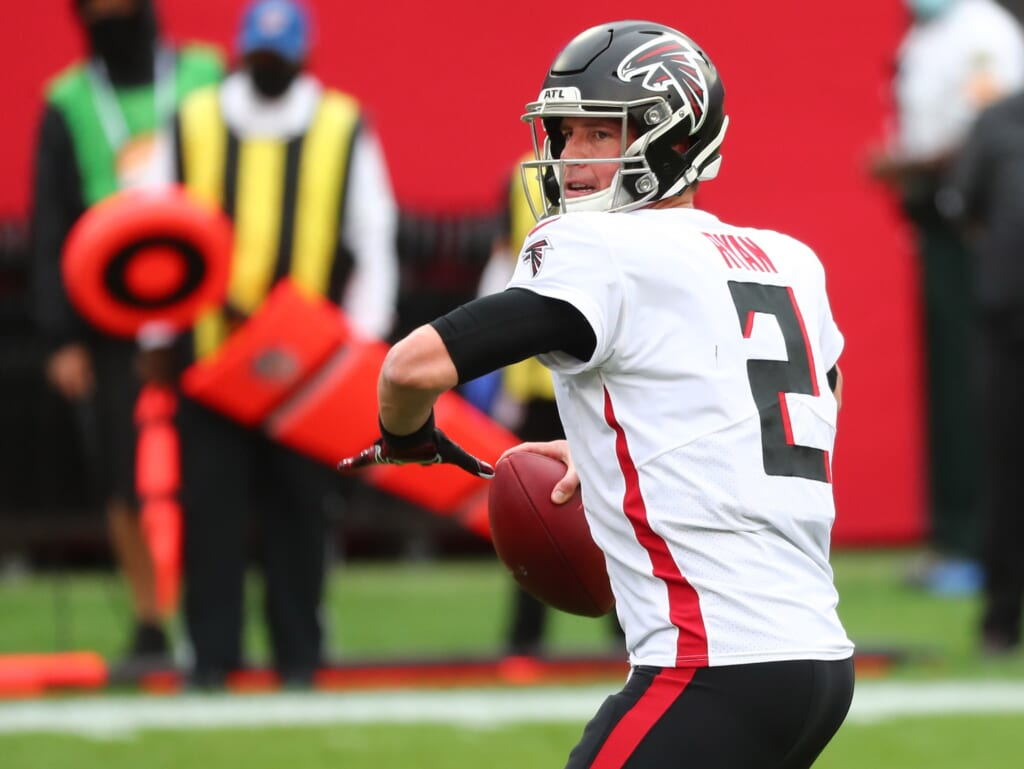 Atlanta Falcons GM doesn't rule out selecting 1st-round QB in 2021 NFL Draft