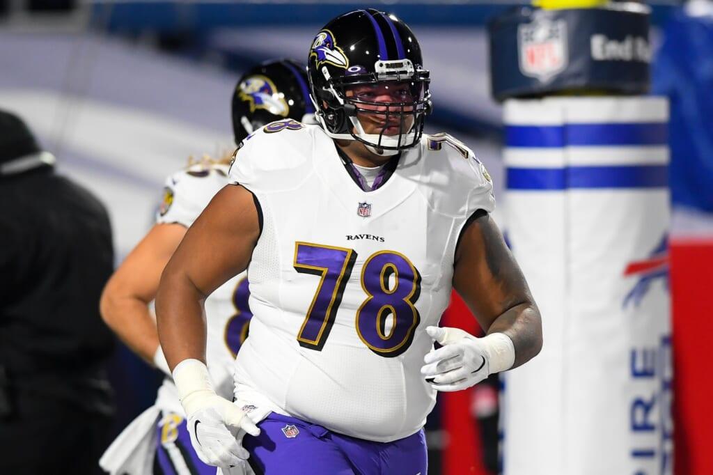 2 more moves for Ravens to make after signing Sammy Watkins: Replace Orlando Brown Jr.