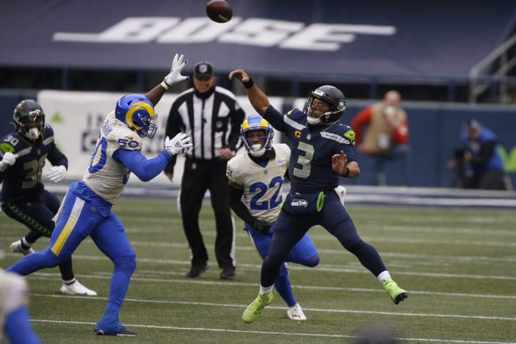 A Russell Wilson trade could happen if Seahawks don't give QB input, protection