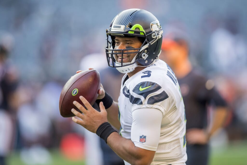 Russell Wilson reportedly drawing trade interest from over 10 NFL teams