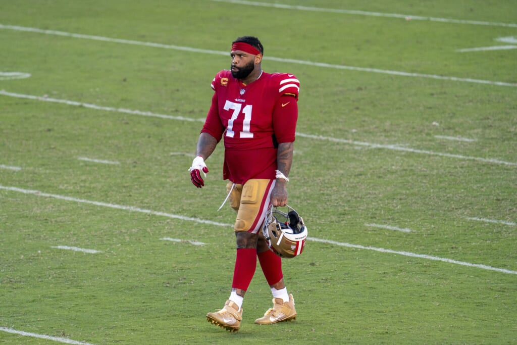 NFL free agents 2021: Does Trent Williams have a future with San Francisco 49ers?