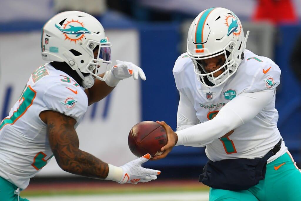 Alexander Mattison to Miami Dolphins
