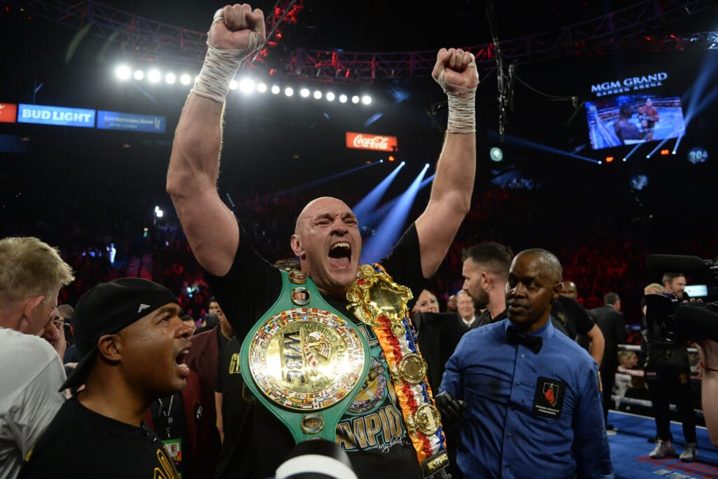Heavyweight boxing rankings: Tyson Fury