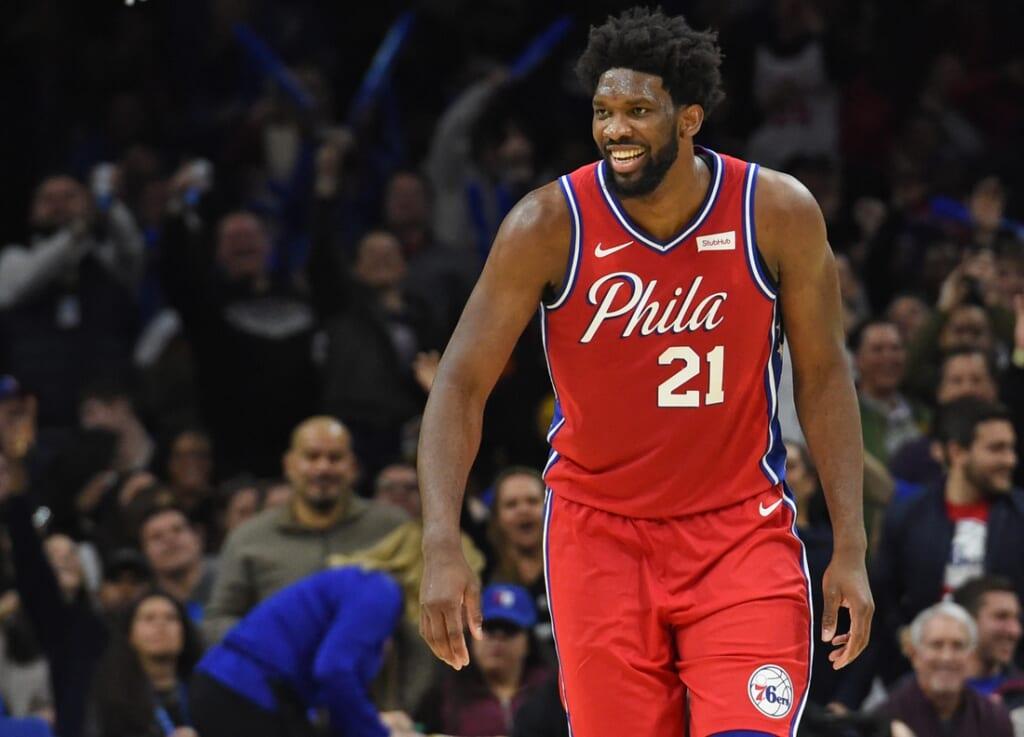 NBA team best performance: Joel Embiid, Philadelphia 76ers