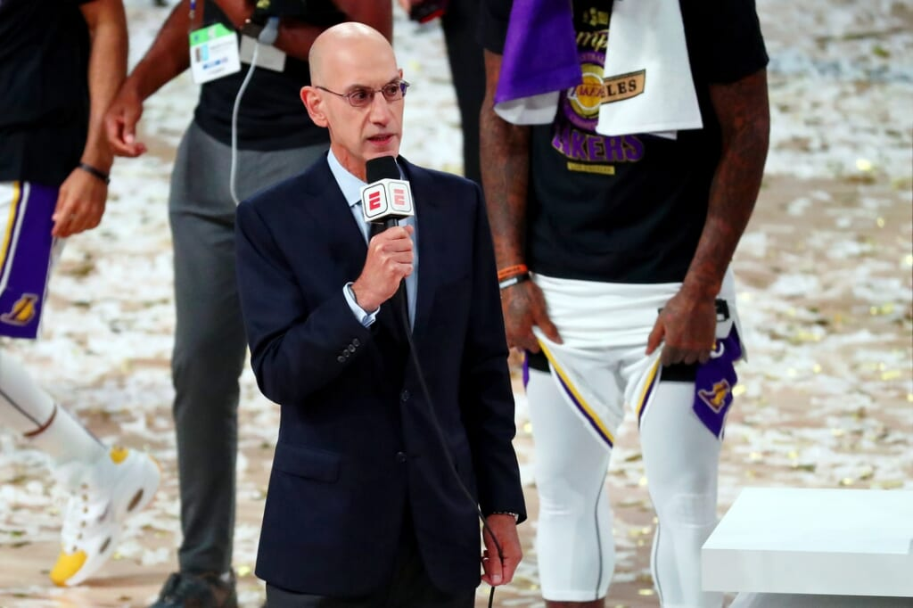 NBA Commissioner Adam Silver could block relocation of the Minnesota Timberwolves.