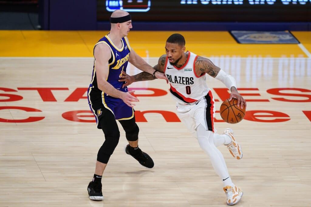 NBA team best performance: Damian Lillard, Portland Trail Blazers