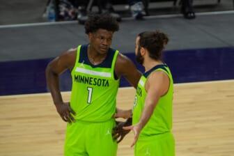 Minnesota Timberwolves guard Anthony Edwards