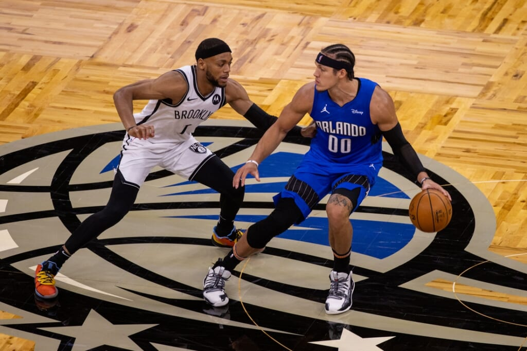 Orlando Magic star Aaron Gordon requests a trade.