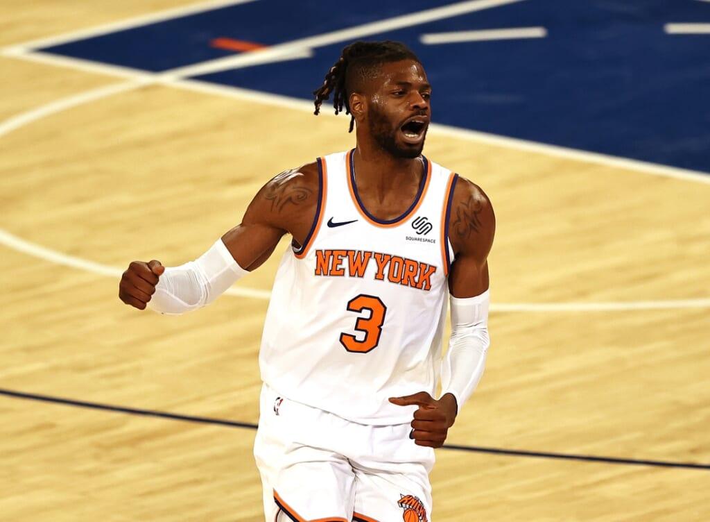New York Knicks' Nerlens Noel Rich Paul