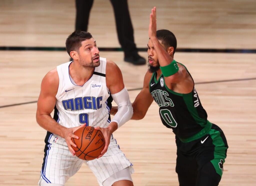 How a Nikola Vucevic trade to Boston Celtics might look