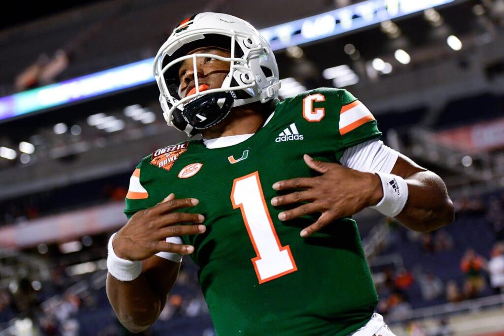 Top 10 college football quarterbacks entering the 2021 season: D'Eriq King