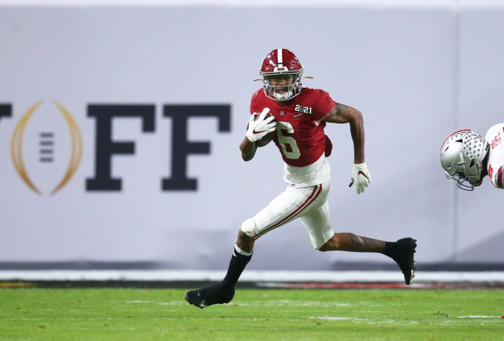 NFL Draft rumors: Devonta Smith