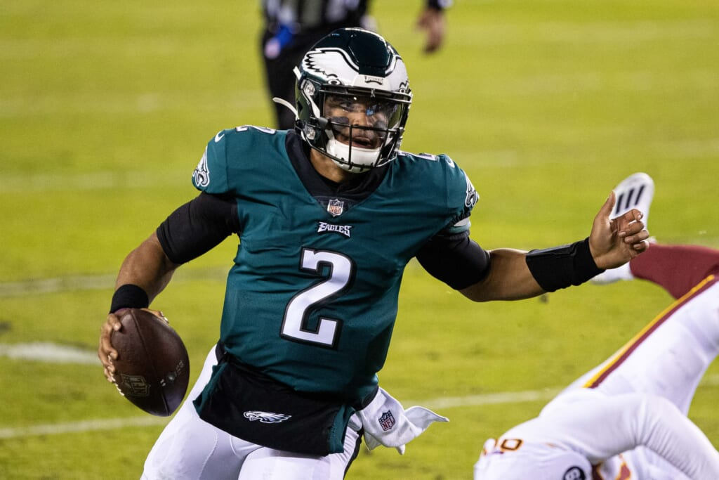 NFL player: Jalen Hurts, Philadelphia Eagles