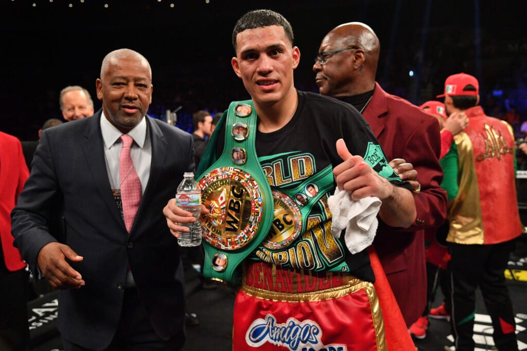 Super Middleweight boxing rankings