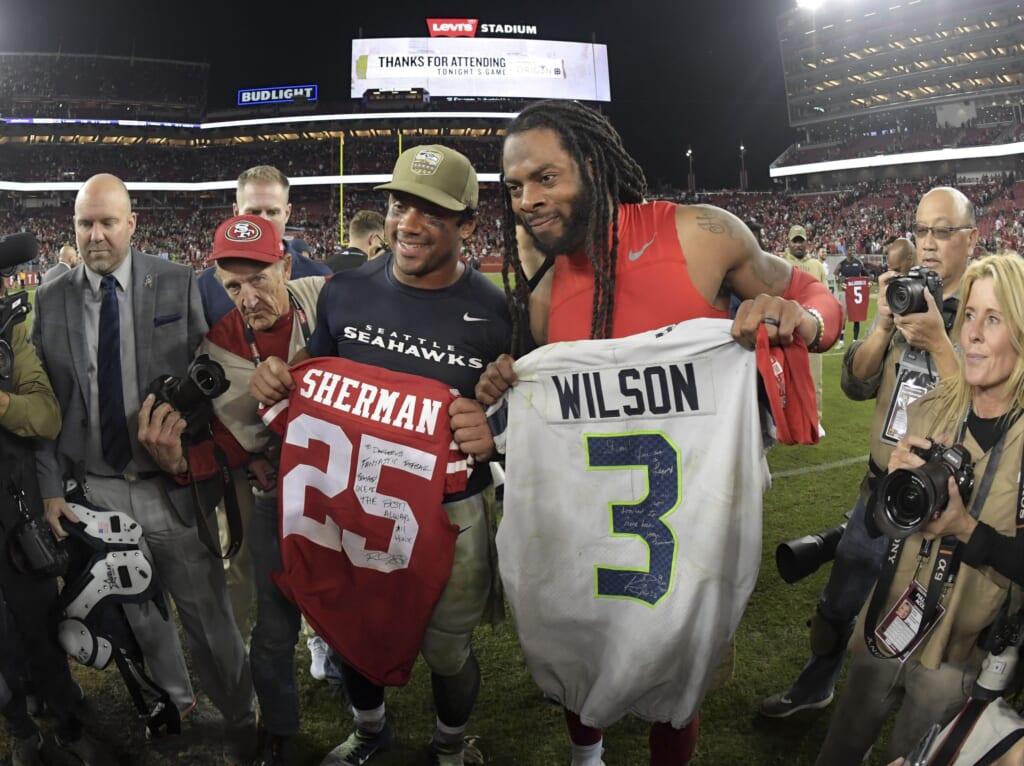 Seattle Seahawks' Russell Wilson