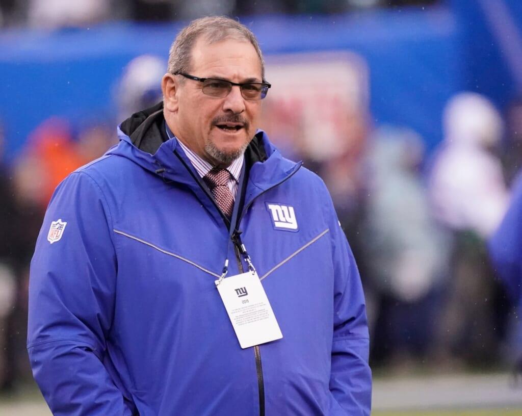 Giants GM David Gettleman struggling with Saquon Barkley situation.