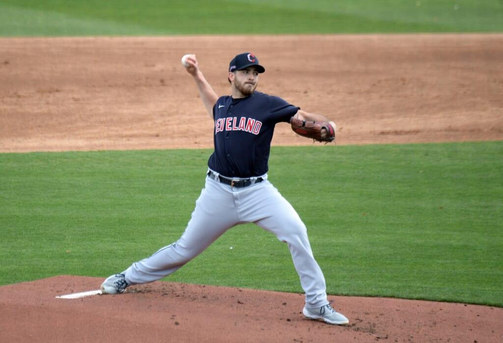 2021 MLB season: Aaron Civale, Cleveland Indians
