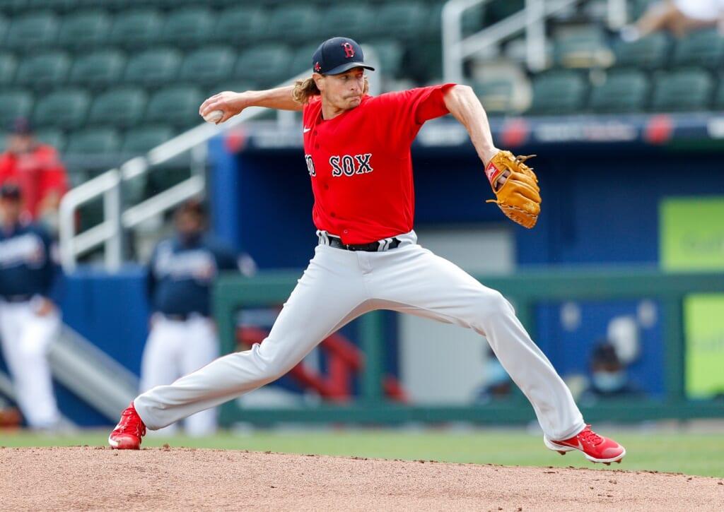2021 MLB season: Garrett Richards, Boston Red Sox