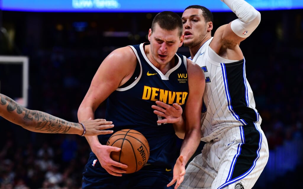 How an Aaron Gordon trade to Denver Nuggets might look