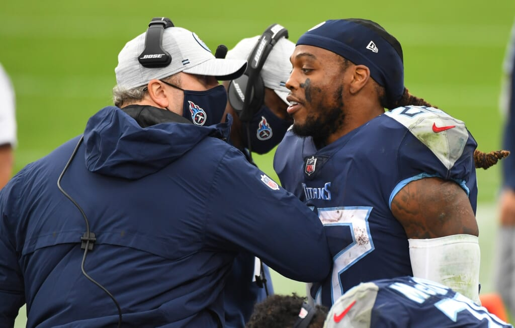 Eddie George says offseason losses will largely determine Titans' 2021 fate