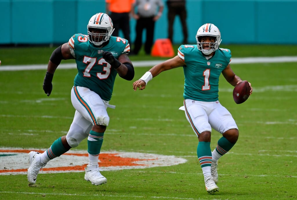 Miami Dolphins release Isaiah Wilson, must look elsewhere ...