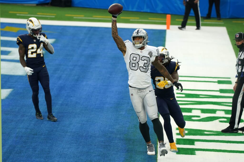 Darren Waller can only do so much for Raiders' 2021 playoff hopes