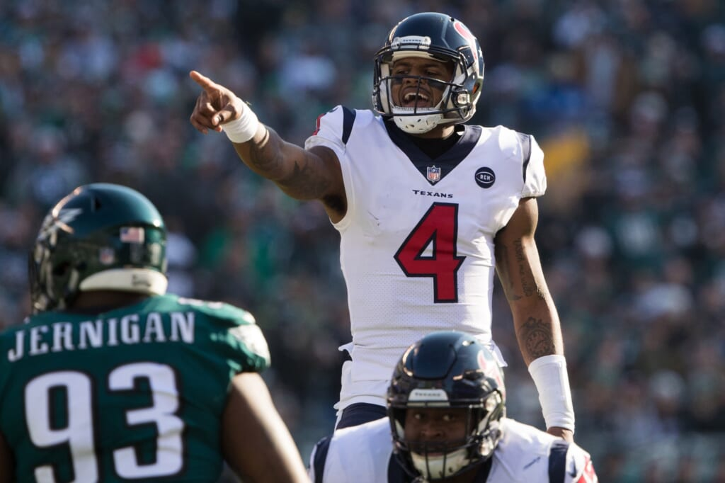 What a Deshaun Watson trade to the Eagles might look like