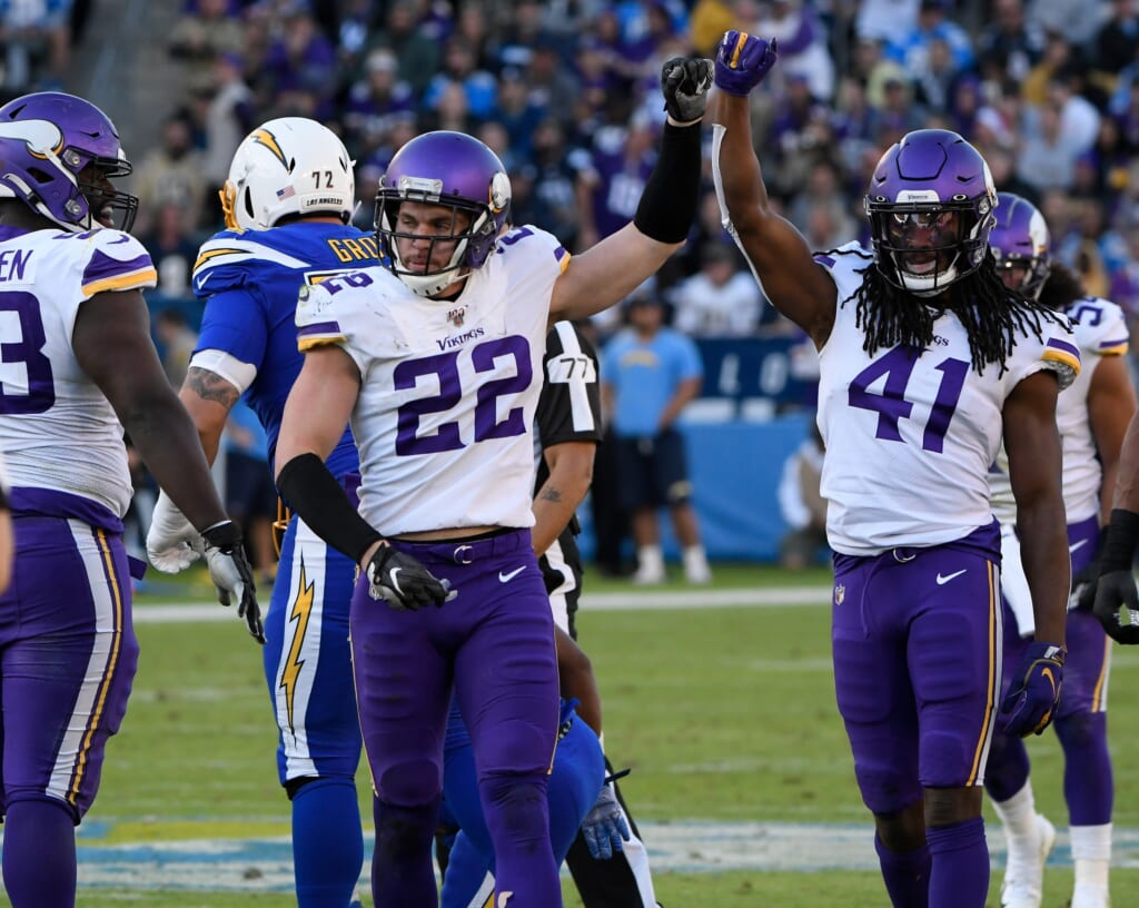 Minnesota Vikings' Xavier Woods is a viable replacement for Anthony Harris