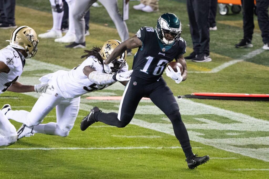 Philadelphia Eagles land James Washington to push Jalen Reagor