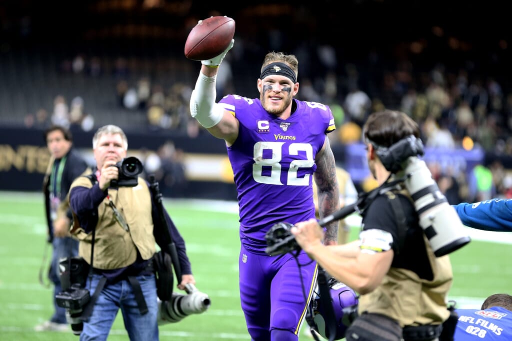 Patriots rumors: Free-agent tight end Kyle Rudolph interested in signing with the team
